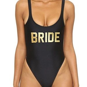 Bride bathing suit size m